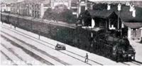 中东铁路满洲里站。