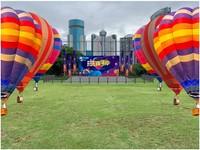 今年假期,在海口就能乘坐热气球。