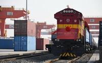12月23日,土耳其首列对华出口商品货运班列顺利开行庆祝仪式在西安举行。