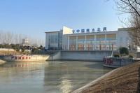 12月23日,南水北调东线台儿庄泵站开机启动东线新的年度调水。新华社发(南水北调东线总公司供图)