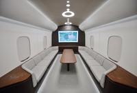 这是1月12日拍摄的高温超导高速磁浮工程化样车内部。新华社记者 刘坤 摄