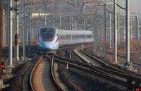 1月15日,D2809次列车驶出贵阳北站。