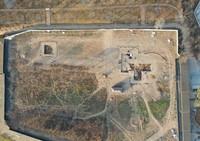 这是河南仰韶村遗址发掘现场航拍图(资料照片)。新华社发(河南省文物考古研究院供图)