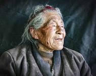 这是卓嘎的肖像(3月22日摄)。