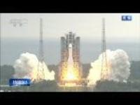 """回放:中国空间站""""天和核心舱""""发射"""