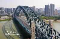 2021年5月1日上午九时,武汉市江汉七桥正式通车,将汉口古田四路与汉阳玉龙路跨江相连。