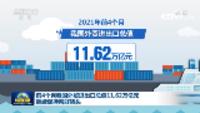 前4个月我国外贸进出口总值11.62万亿元 继续保持向好势头