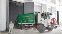 河內市垃圾焚燒發電項目實現垃圾進場。中國一冶供圖