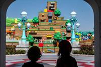 當地時間2021年3月17日,日本大阪超級任天堂世界舉行媒體預展。視覺中國版權作品,請勿轉載