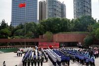 5月31日拍攝的中共四大紀念館重新開館活動現場。
