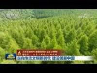 【在习近平新时代中国特色社会主义思想指引下——生态文明建设生动实践】走向生态文明新时代建设美丽中国