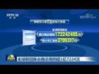 全球新冠肺炎确诊病例超1亿7224万