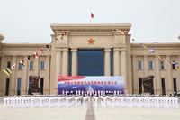 6月26日,中國人民解放軍海軍博物館在山東省青島市舉行開館儀式。這是開館儀式現場。新華社發(于斌 攝)