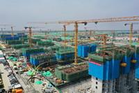 這是雄安新區容西片區建設現場(7月3日攝,無人機照片)。新華社記者 楊世堯 攝