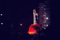 我國成功發射天鏈一號05星。新華社發(楊熙 攝)