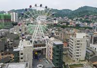 這是7月8日拍攝的重慶市南川區東街一帶景象(無人機照片)。