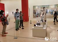 展览现场。人民网记者 鲁婧摄