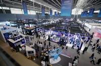 9月6日拍摄的2021中国国际数字经济博览会现场。新华社记者 王晓 摄