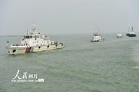 2021年9月16日,渤西海事协同共治示范区海事执法船进行第一次联合巡航。