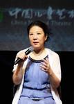 中国儿童艺术剧院院长冯俐介绍该剧亮点。中国儿艺供图