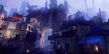 艺术家描绘2084年城市景象