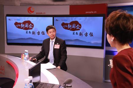 中国第一重型机械集团董事长刘明忠做客人民网谈对话新国企 发展新方位