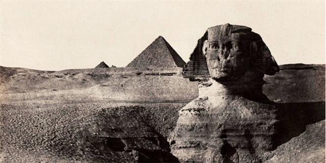 170年前法国摄影师镜头下的古埃及风景