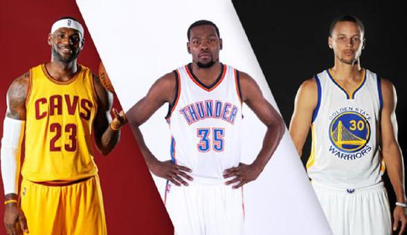 美媒评现役NBA百大球星TOP25:皇帝君临天下