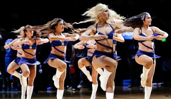 NBA拉拉队宝贝性感热舞