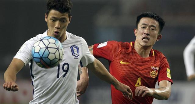 世预赛:中国队以1比0战胜韩国队
