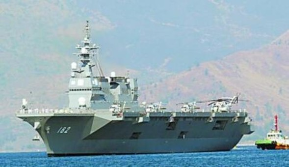 日本直言造航母针对中国 梦想开战或激怒邻国