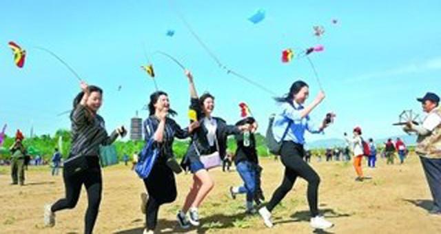 放飞梦想:2017年北京国际风筝节