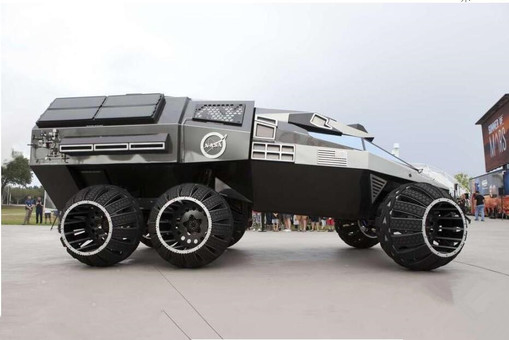 酷炫!NASA发布火星专用版概念太空车
