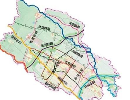 成都郫都区新规划12条特色主题绿道