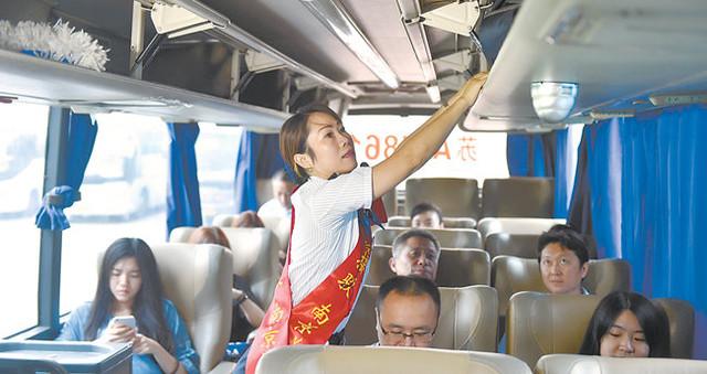 南京桥北客运站驶出定制中转班车