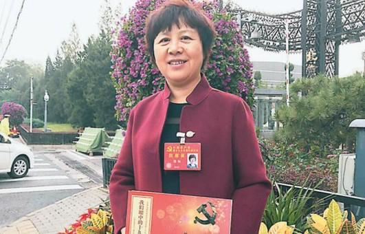 扬州基层代表特殊礼品献礼十九大 引发共鸣