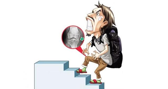 上下楼梯可自测膝关节健康
