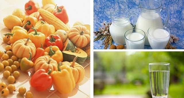 白色食物润肺补水 橙色蔬果缓解秋燥