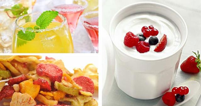 酸奶、果汁、水果干!其实没那么健康