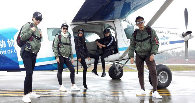 吉安将举办亚洲跳伞锦标赛 五位超模来助阵