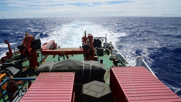 中国首次环球海洋科考第三航段任务圆满结束