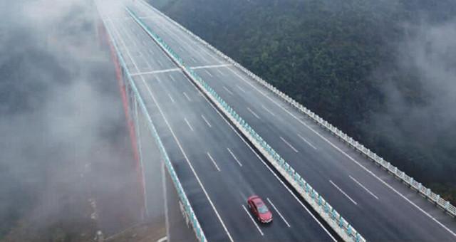 遵贵扩容高速昨日正式通车