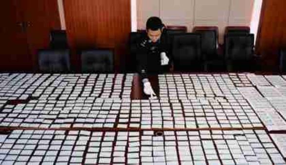 南京公安破获一起制售春运假票案件