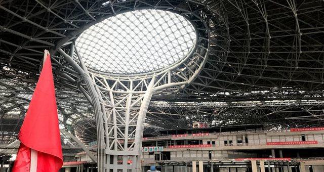 记者探访北京新机场:最多走8分钟可到达登机口