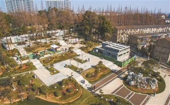 南京智慧健身公园亮相 实现科技与生态融合