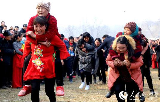 【新春走基层】郏县:新春里的村民运动会