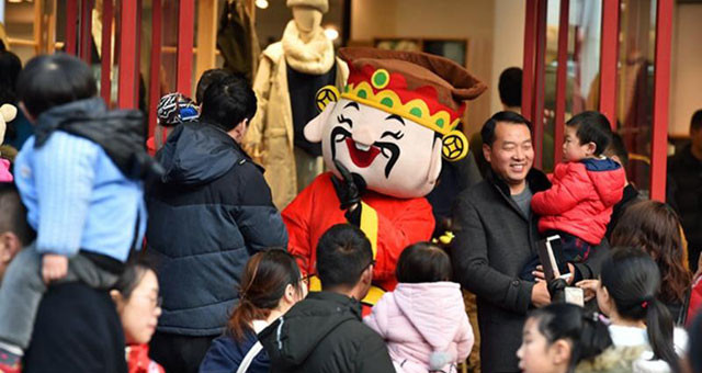 春节假期迎来旅游小高峰