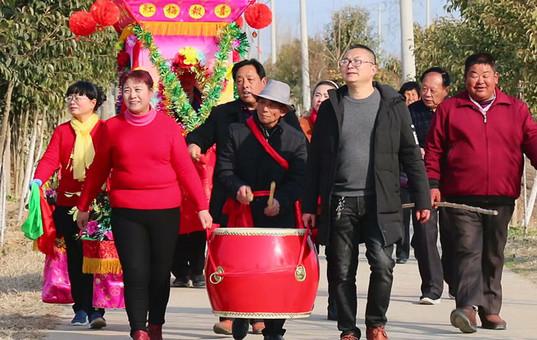 江苏大丰新春民俗:花船花担闹新春