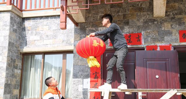 镇宁简嘎:易地扶贫搬迁户欢度第一个春节