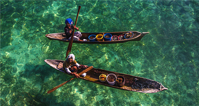 海阔天空竞自由!巴瑶族人的海上漂流生活
